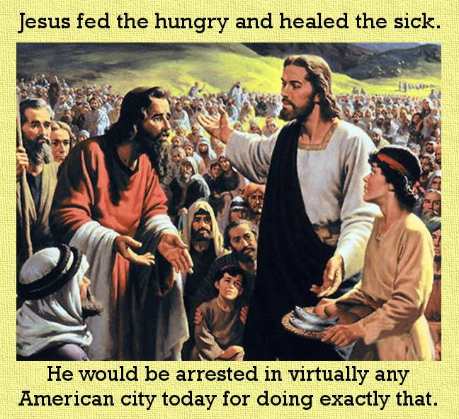 Jesus, Christ, feed hungry, poor, Beatitudes, Luke, christianity