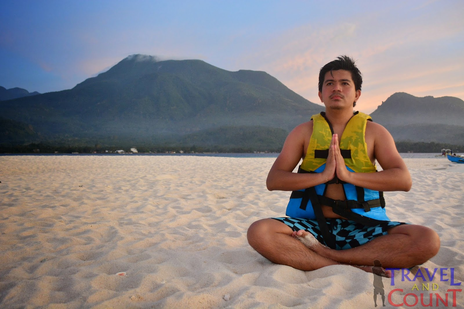 Calmness at White Island Camiguin