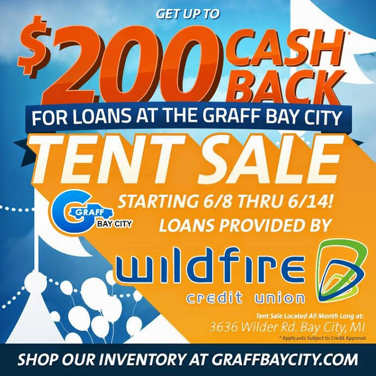 Wildfire Credit Union at the Graff Tent Sale