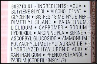 La Roche-Posay - Hydraphase Intense Serum ingredientes