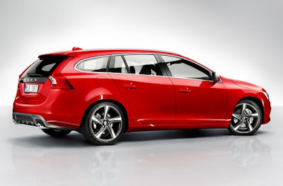 2015 Volvo V60 Sports Wagon Design