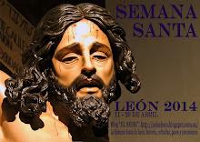 """Semana Santa de León 2014. Cartel del Blog """"El Seise"""""""