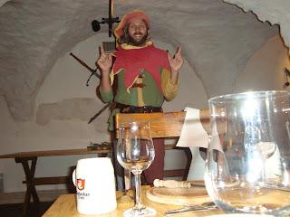 Fahrend Volker in der Burg Blomberg
