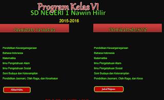 Aplikasi Program Semester Dan Program Tahunan Excel