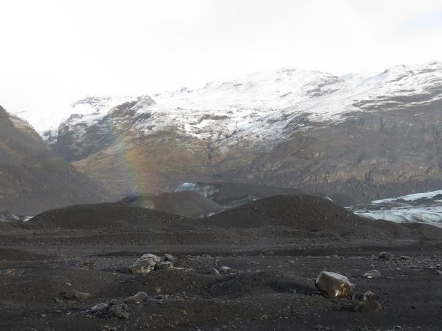 Iceland ice picking Sólheimajökull Glacier