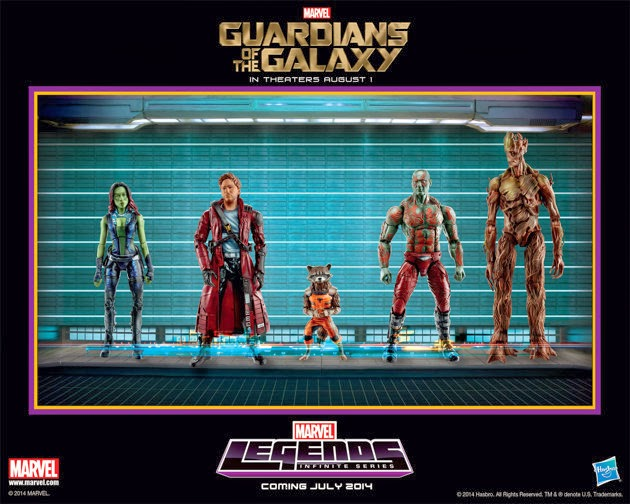 guardians of the galaxy, action figures