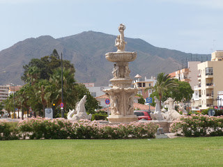 Fountain in Estepona