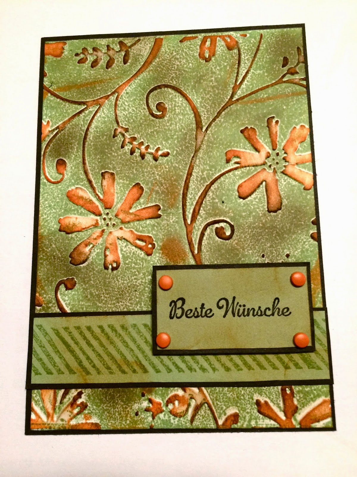 Stamp with Embossing Folder