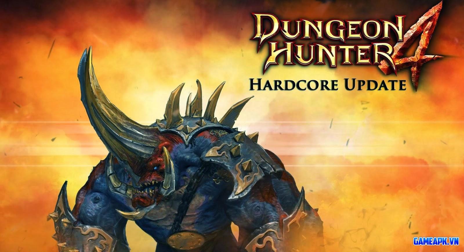 Dungeon Hunter 4 v1.7.0r hack full vàng và đá quý cho Android