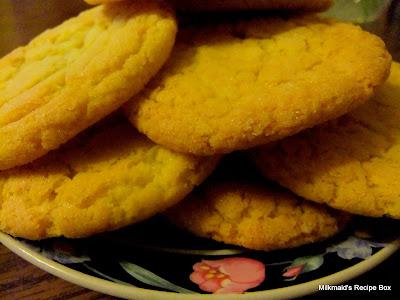 Egg Yolk Cookies*