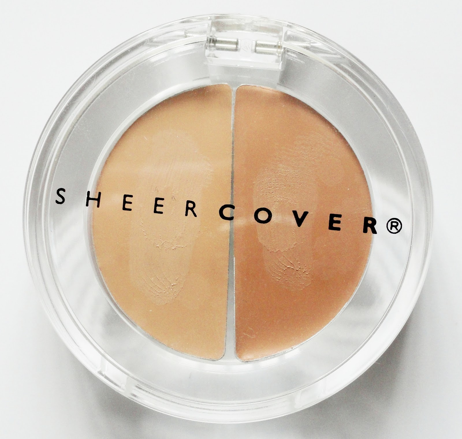 This one is the sheer cover duo concealer in the shade medium tan disclaimer i was sent this product for free by influenster but i am not being