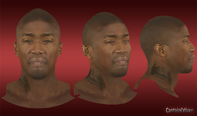 NBA 2K13 Jamal Crawford Cyberface Mod