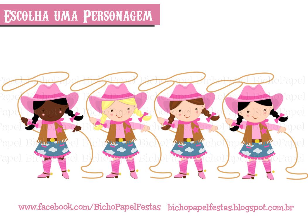 Preferência Bicho Papel: Kit Fazendinha menina CD01