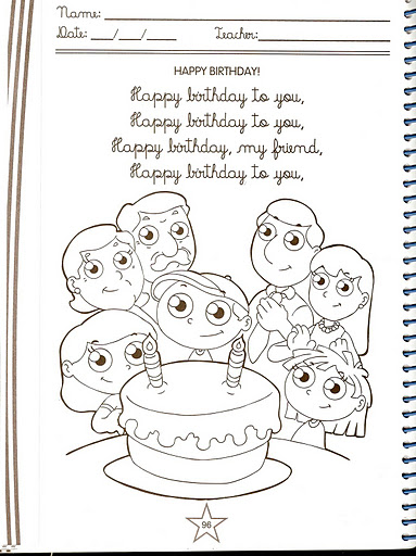 Cumpleaños en ingles
