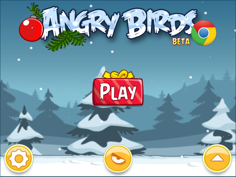 Astuces web 2 0 blog angry birds sur chrome version noel - Angry birds noel ...