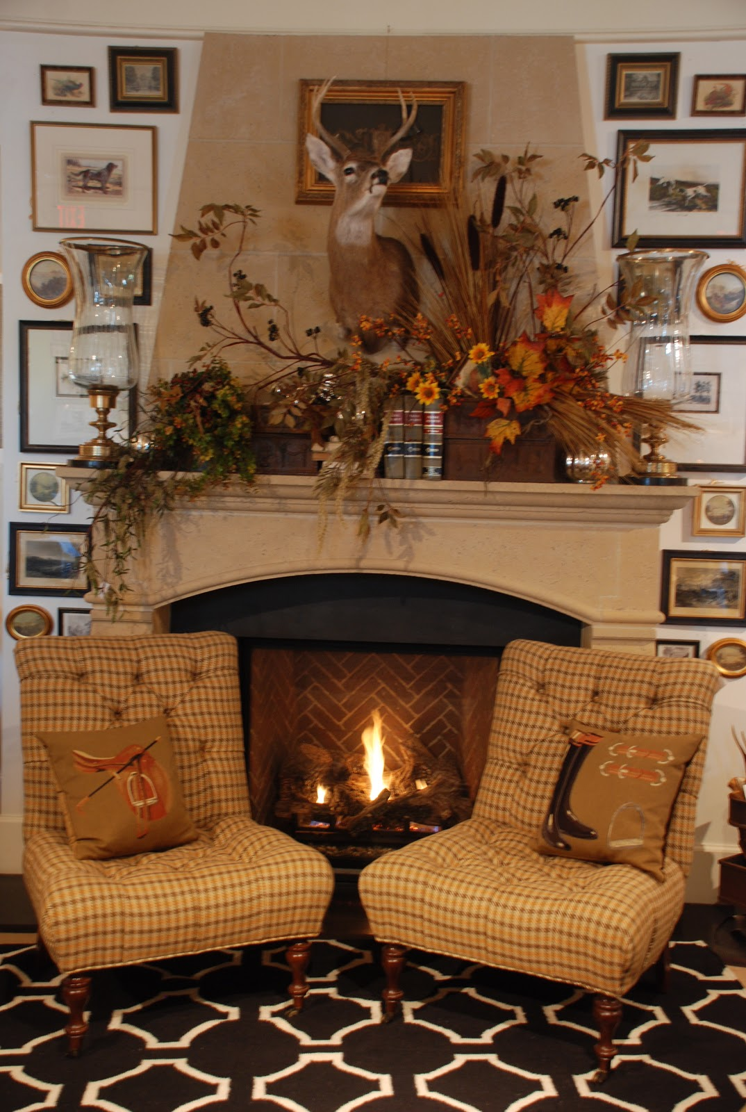 still woods farmhouse autumn splendor for the hearth
