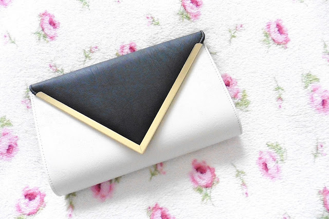 Dorothy Perkins Monochrome Clutch bag