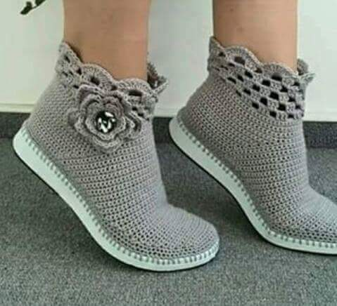 Kang l tejiendo con armon a curso de botas y zapatos - Cosas hechas a mano para vender ...
