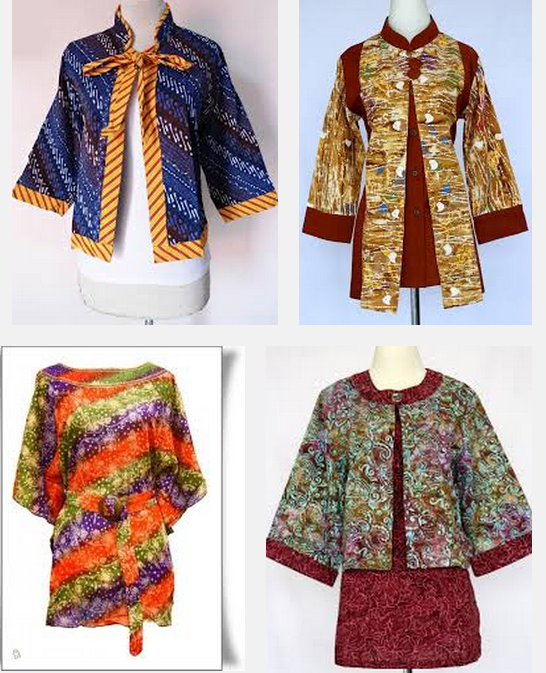 Model Baju Batik Kerja Untuk Wanita Gemuk Ibu Hamil Guru
