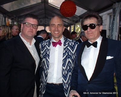 (L to R)Eddie Tully, Nigel Richard and Peter Dello Buono at the Philadelphia Art Alliance