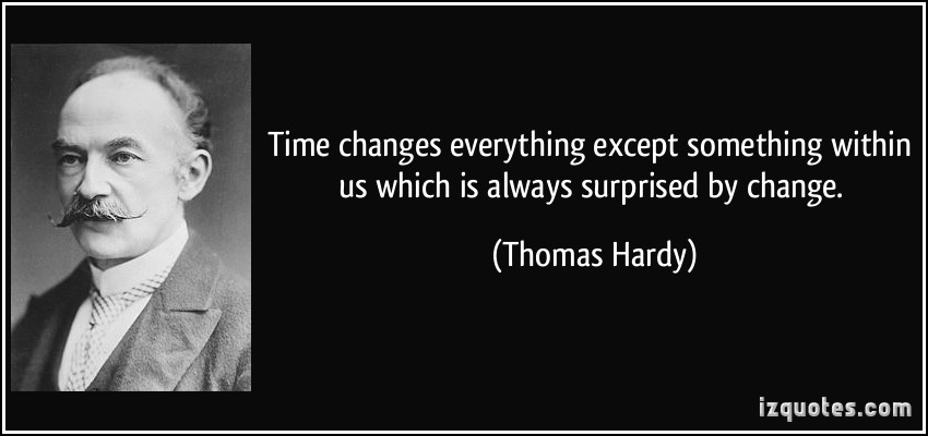 thomas hardys view on time Tess of the d'urbervilles has 209,618 ratings and 7,356 reviews  view profile profile friends groups  certainly thomas hardy was writing of a time and place.