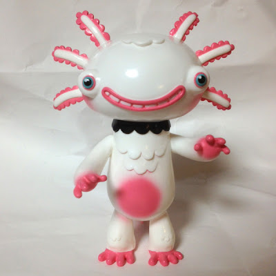 San Diego Comic-Con 2012 Exclusive Wooper Looper Painted White Vinyl Figure by Gary Ham