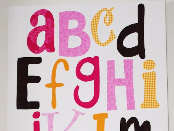 Alphabet Wall Poster
