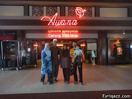 Percutian di Genting Awana Resort