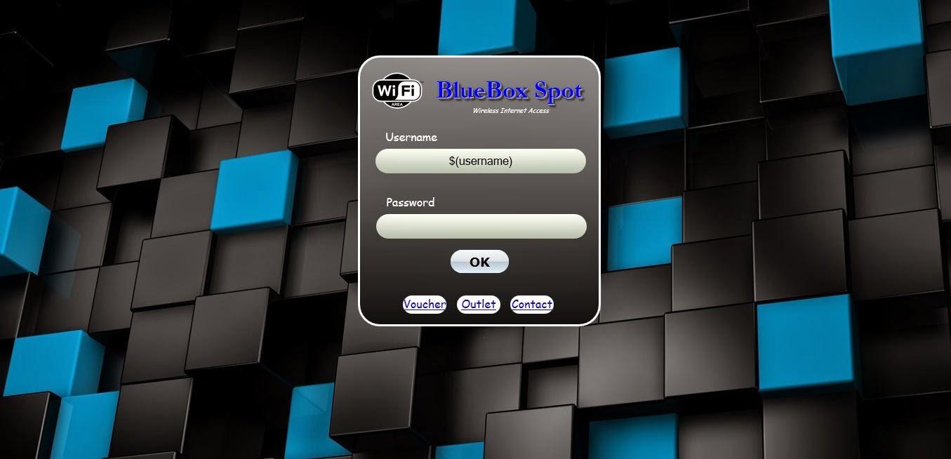 BlueBox Mikrotik Hotspot Login Page Free Template | URDU OK
