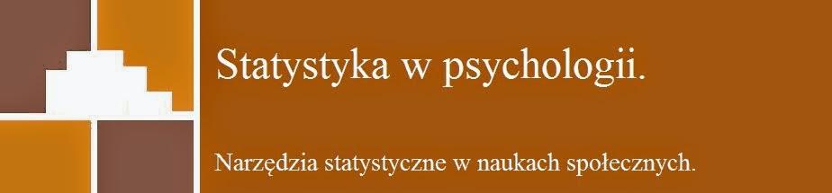 Statystyka w psychologii