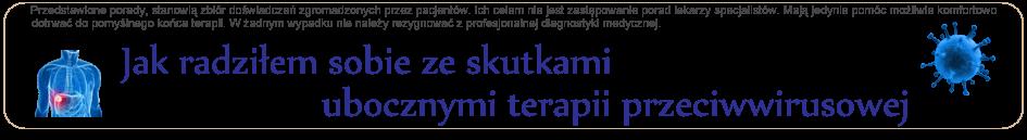 Leczenie HCV (WZW C) - skutki uboczne terapii