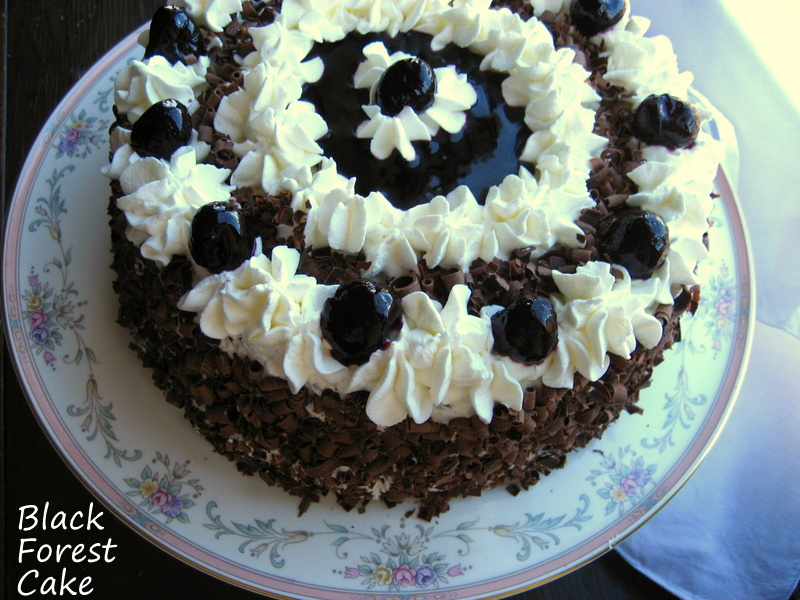 Haunted Black Forest Layer Cake Recipes — Dishmaps