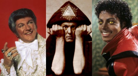 They Sold Their Souls for Rock N Roll: The Michael Jackson, Aleister Crowley, Liberace Connection‏