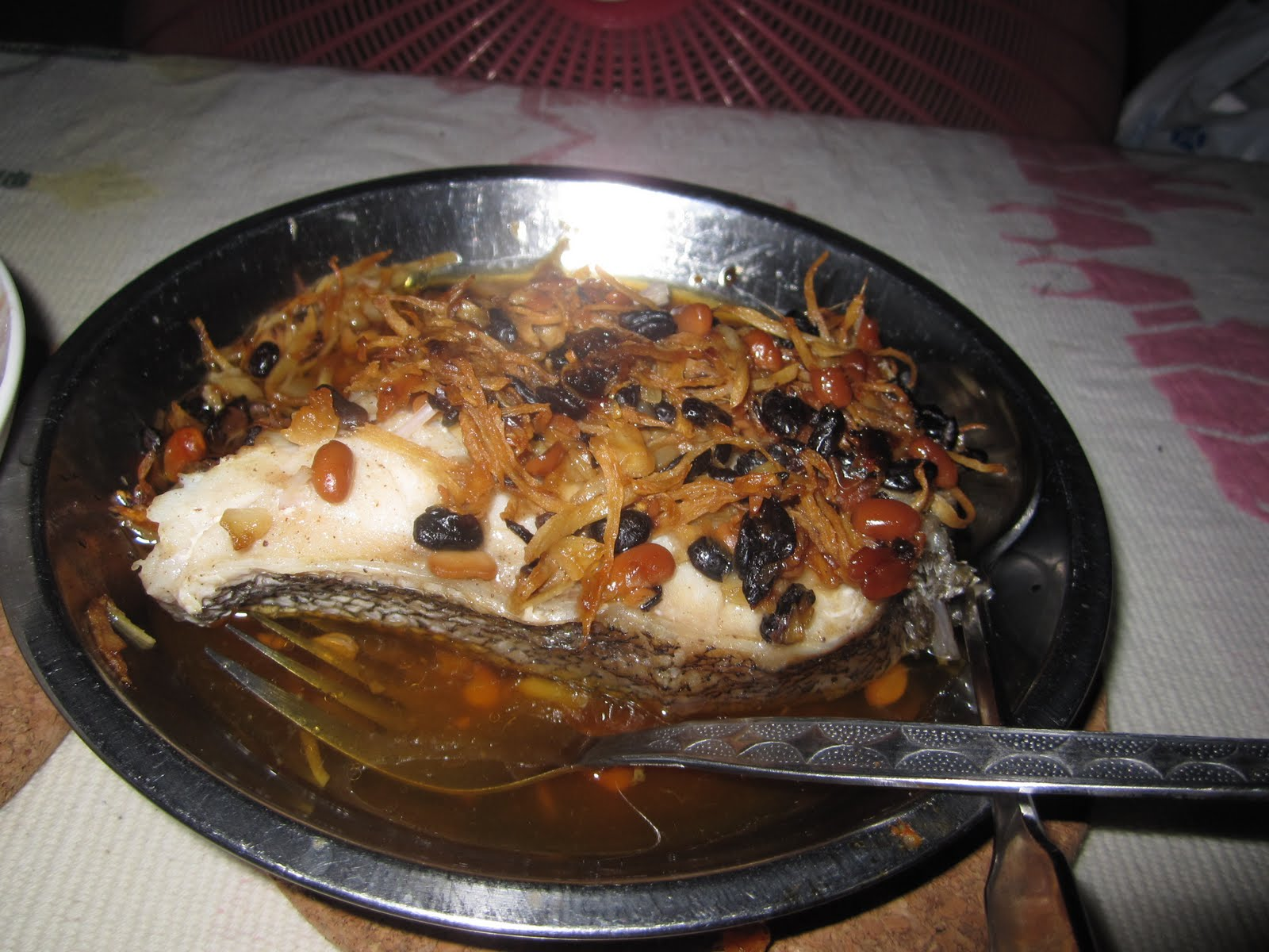Steamed Fish with Black Beans Recipe |Chinese Food Recipes ...