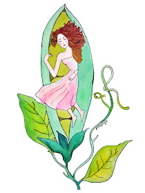 princess pea illustration