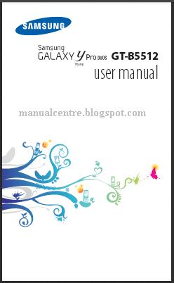 Samsung Galaxy Y Pro Duos Manual Cover