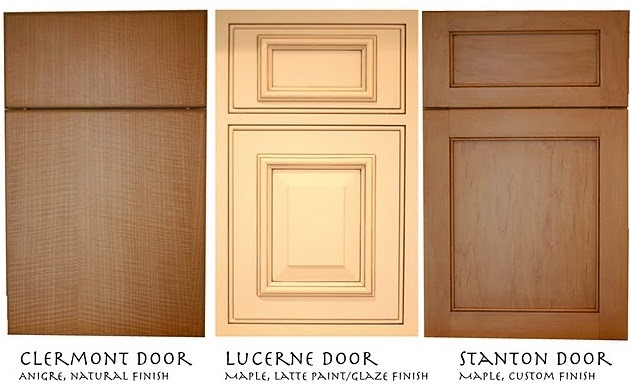 This old white house cabinet styles for Different styles of doors