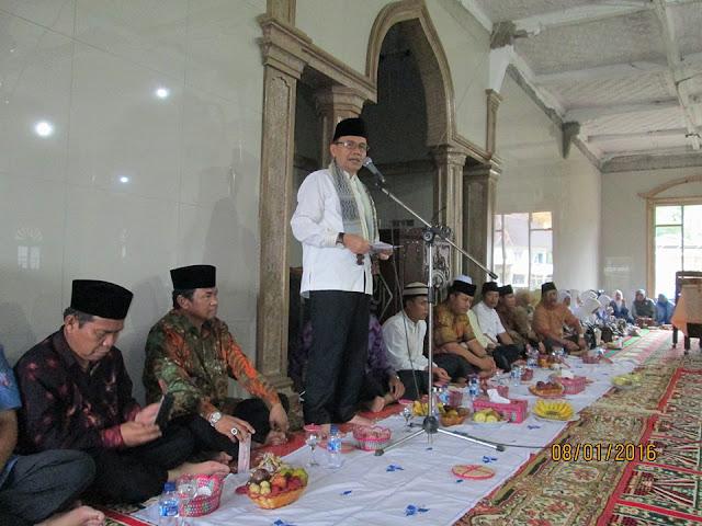 Sukses Gelar Maulid Nabi di Bukit Kerman, Sumbangan Masjid Terkumpul Belasan Juta Rupiah