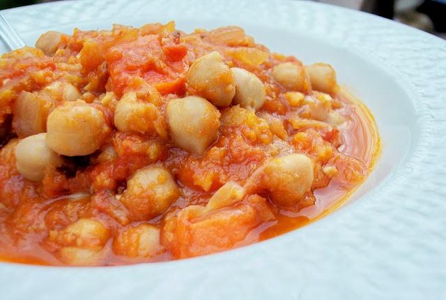 Chickpea Butternut Squash Stew