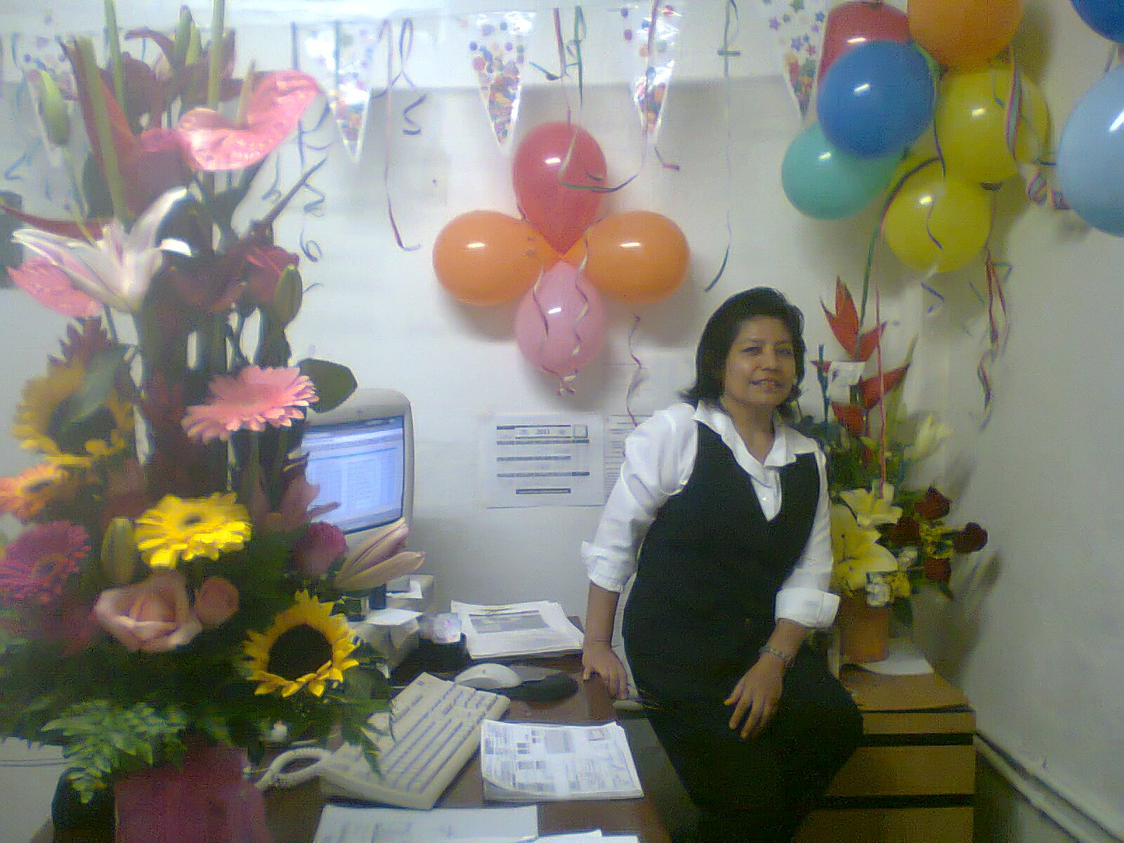 Escribamos el diario vivir festejando mi cumplea os 45 for Arreglos para escritorios oficina
