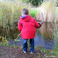 Fishing for pond life