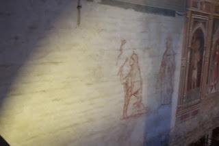 San Miniato Florence Italy Gregorian Chant unfinished fresco art