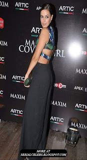 Neha Dhupia Hot at Maxim