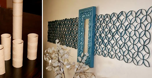 How To Recycle Recycled Wall Art Designs