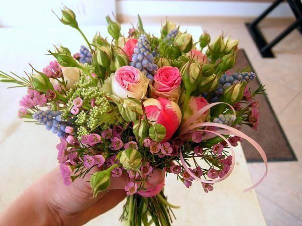 Мастер класс букеты цветочные