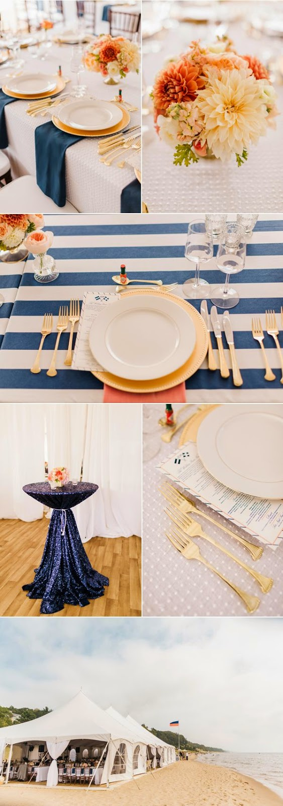 nautical table decorations for weddings wedding stuff ideas With nautical wedding table decor