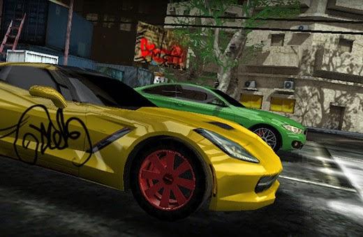 3D Drag Race Rush Game