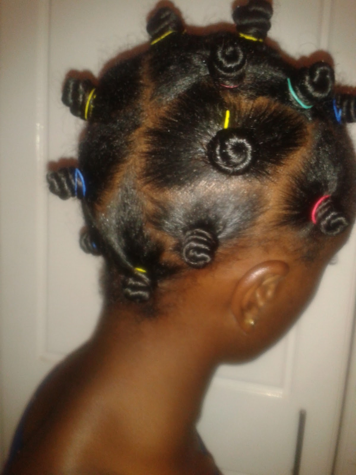 Beautiful african woman my bantu knot out i then air dried my hair and parted random sections coiled them into the bantu knots and secured them with elastic bands altavistaventures Images