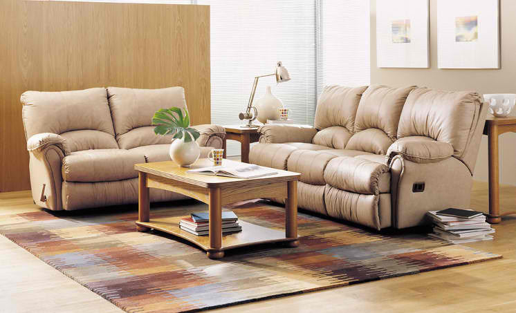 Living Room Furniture Reclining Sofa