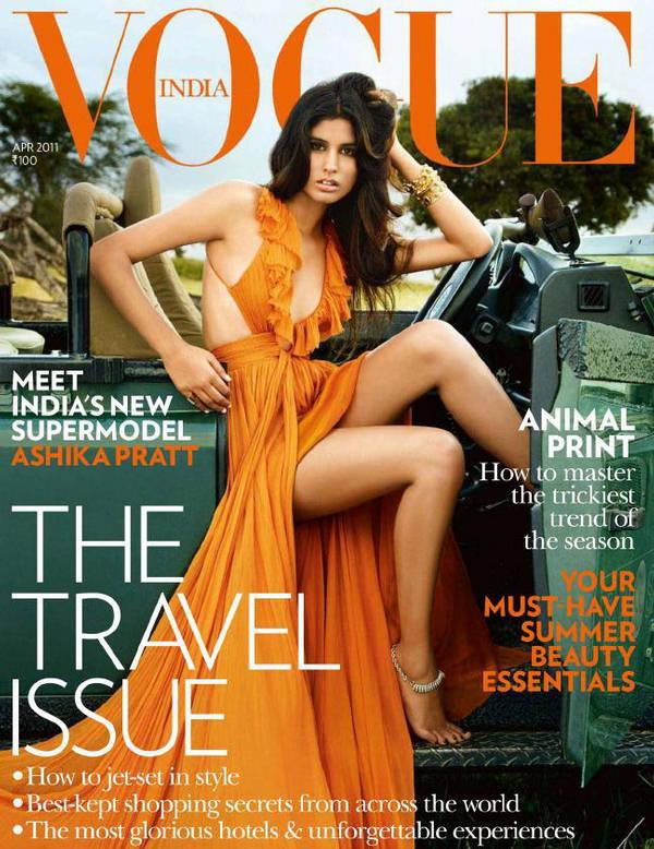 Ashika Pratt Vogue India April 2011
